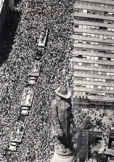 Philadelphia Flyers Stanley Cup Parade 1975