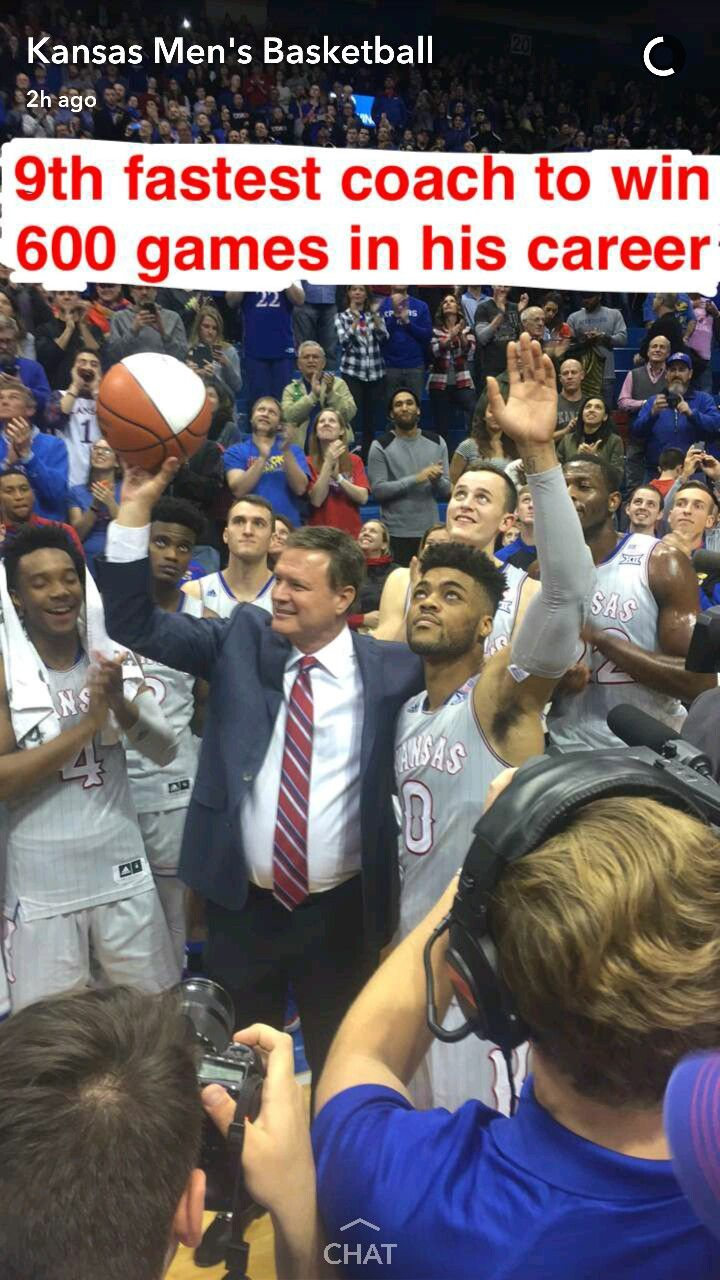 17 best ideas about bill self ku basketball kansas jayhawks head coach bill self celebrates his 600th career win on 12 6