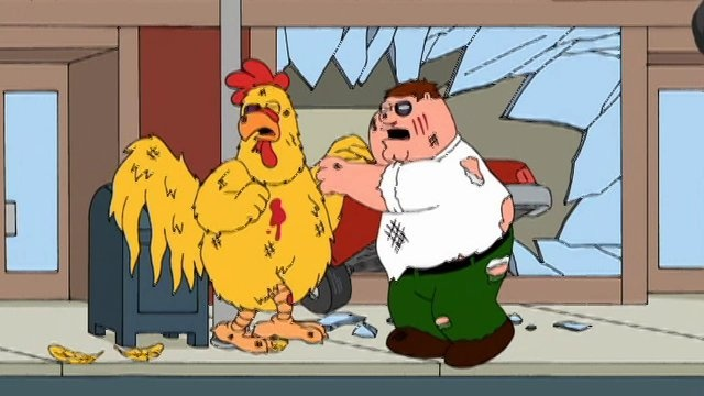 family guy chicken fight | Family Guy: Chicken Fight-tacular trailer on Vimeo