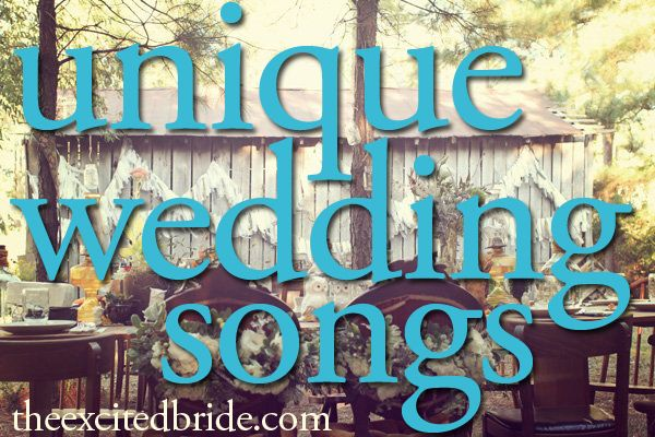 Unique wedding songs that you 39 ll love for your first dance for Unique first dance wedding songs