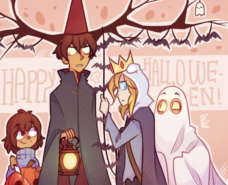 !!! It's Halloween !!! @Anon who suggested Bad End Friends (/ovo)/ by Trash Cass on Tumblr