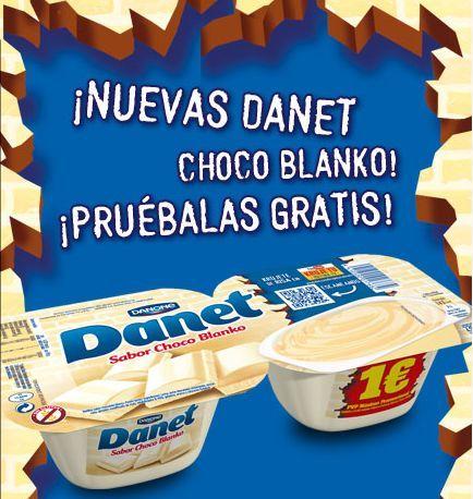 Prueba #gratis el nuevo Danet Choco Blanko. Consigue tu cupón gratis y disfruta del sabor de este producto.  Promoción válida para España hasta el próximo día 05/05/2014.  Más información aquí: http://www.baratuni.es/2014/04/muestras-gratis-danet-choco-blanko.html  #muestrasgratis #gratis #danet #danone #baratuni #alimentación