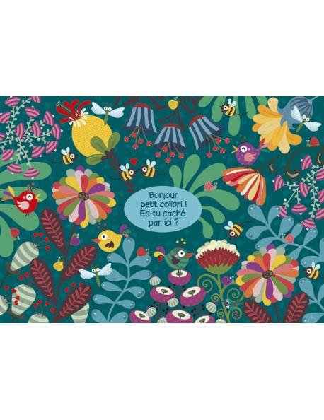 "Lali carte postale jeu ""Bonjour Petit Colibri"" - Arret-sur-image.eu | Carte postale, Carte, Postale"