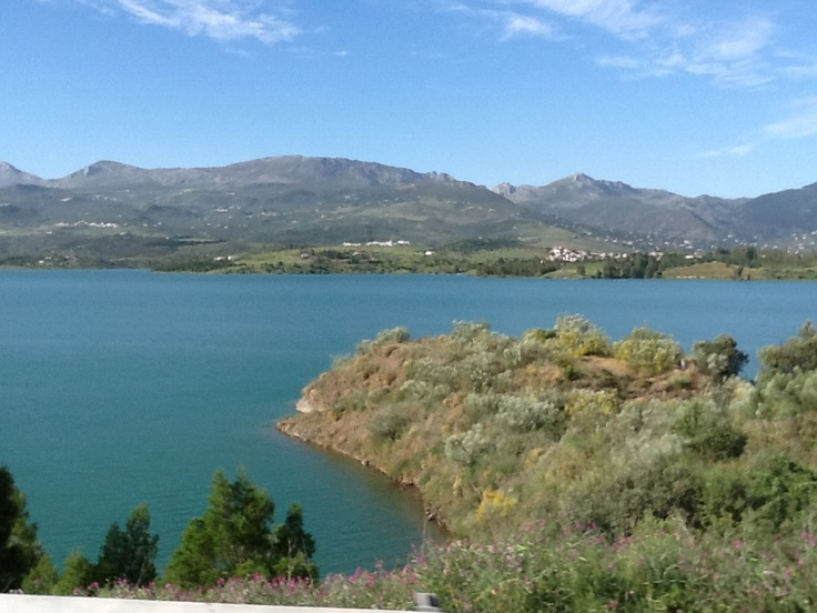Lake Viñuela, South Spain