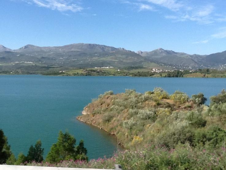Lake Viñuela, South Spain