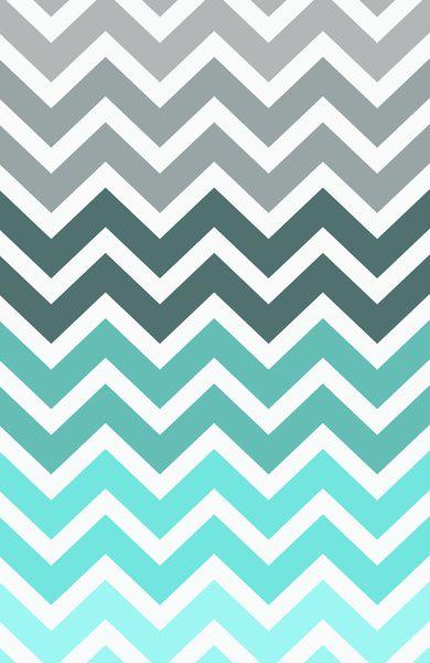 Tiffany Fade Chevron Pattern Art Print By RexLambo Tiffany Blue In Fascinating What Is A Chevron Pattern