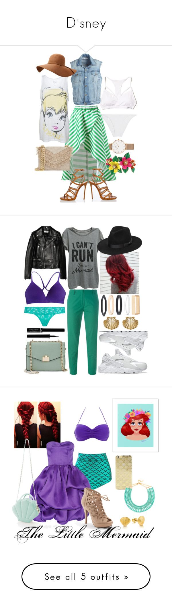 """""""Disney"""" by julia-awesome ❤ liked on Polyvore featuring Daniel Wellington, Eres, Hollister Co., Disney, Frame, Dsquared2, Cynthia Rowley, Betsey Johnson, Vanessa Bruno and Yves Saint Laurent"""