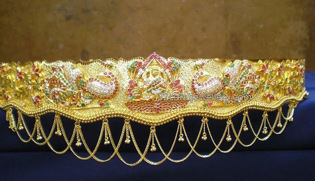 Jewellery Designs: Vaddanam/Oddiyanam