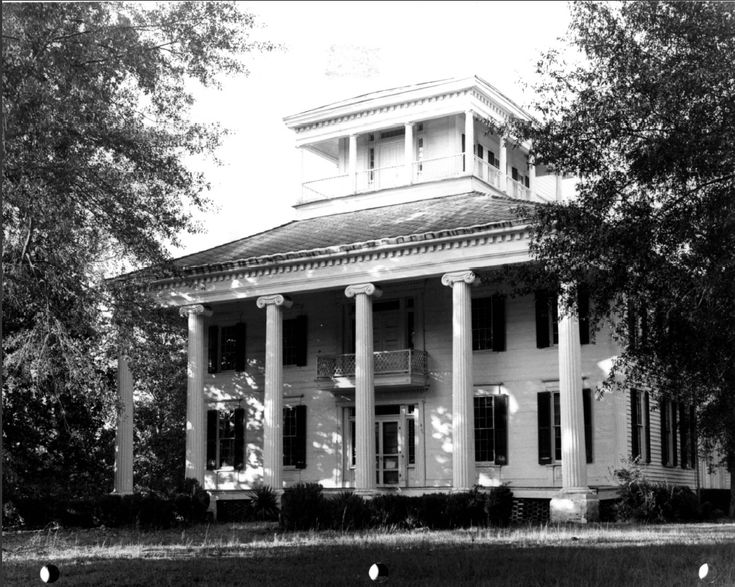 Rosemount Plantation, Forkland, Alabama, photo c. 1972