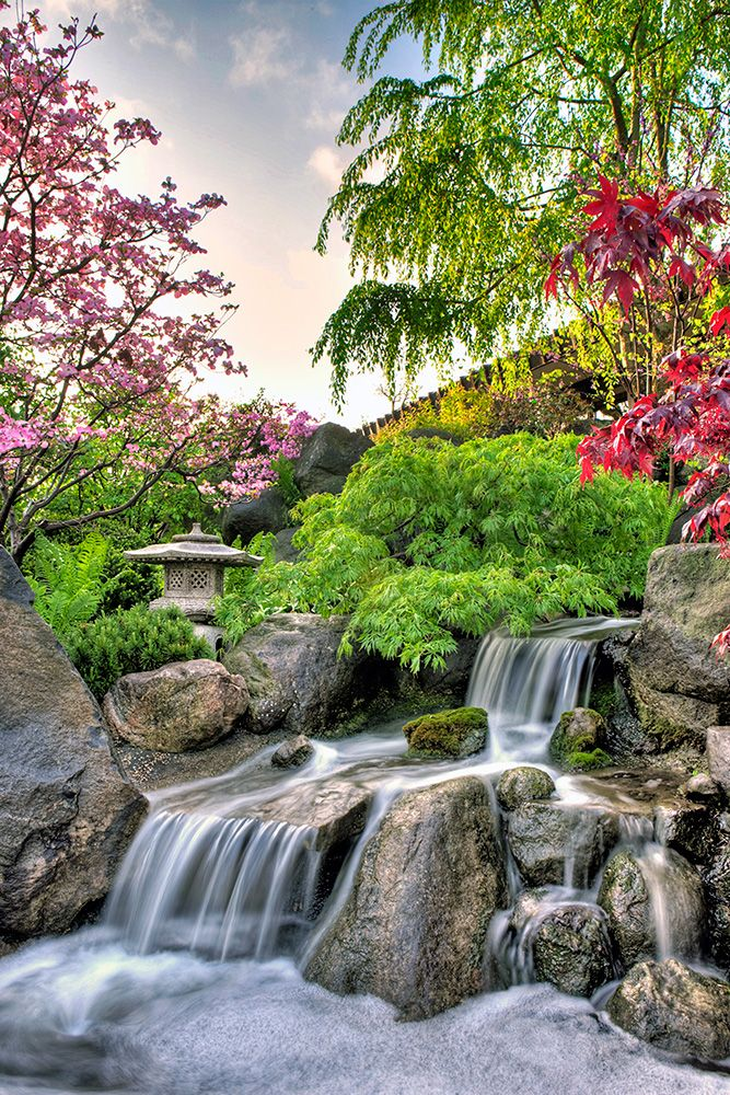 783 best images about backyard waterfalls and streams on for Zen garden waterfall