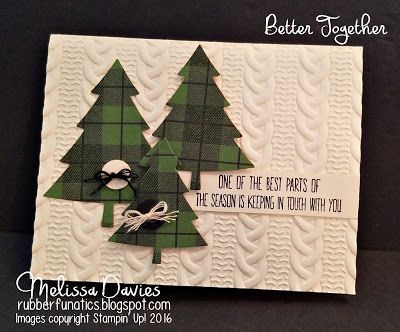 Stampin' Up! Better Together by Melissa Davies @rubberfunatics #rubberfunatics #stampinup