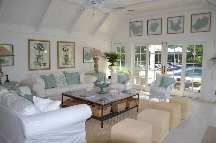 Which Shade Of Blue For Hamptons Casual Living Room