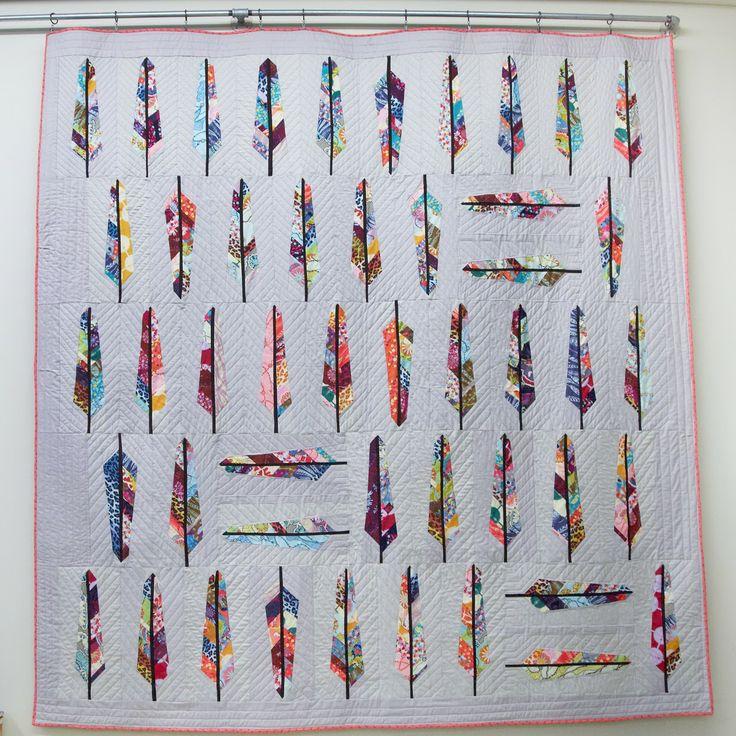 19 best quilts I love images on Pinterest | Quilt patterns ... : anna maria horner feather quilt - Adamdwight.com
