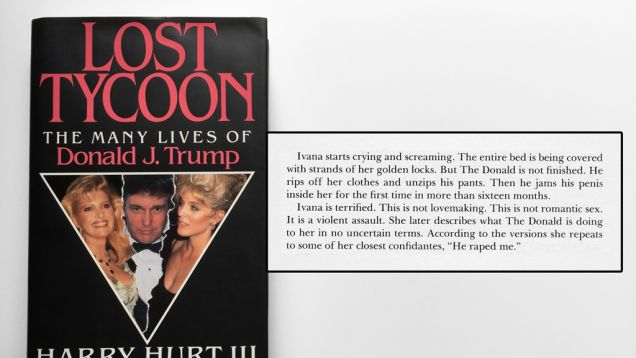 The Time Donald Trump's Ex-Wife Accused Him of Brutally Raping Her