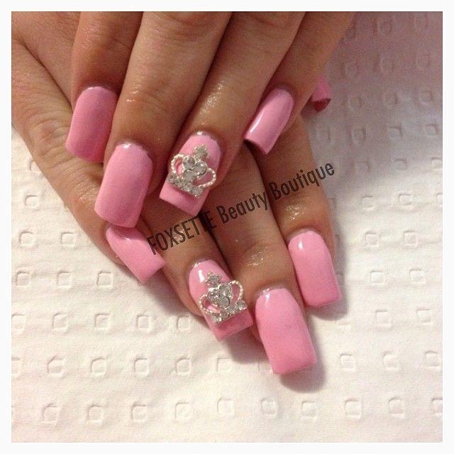 Princess Acrylic Nails: ★☆♡Nails♡☆★