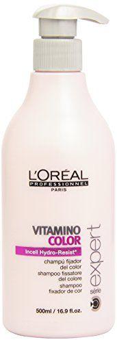 L'Oréal Professionnel Shampooing Fixateur de Couleur 500 ml L'Oréal Professionnel http://www.amazon.fr/dp/B002UD52M6/ref=cm_sw_r_pi_dp_2Zw.vb04V202J