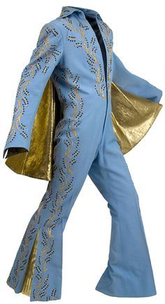 Elvis Presley's Madison Square Garden Jumpsuit; worn on June 10th, afternoon show 2:30 pm