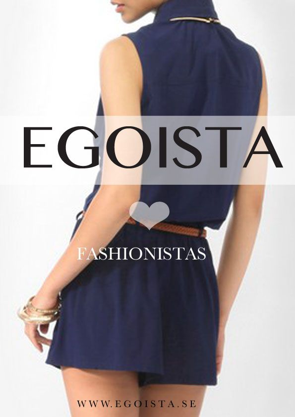 Shopping for fashionistas at www.egoista.se