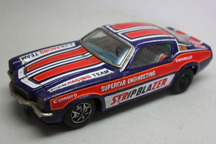 CHEVROLET CAMARO RUSHER Z 28 / JAPAN TAIYO / BATTERY OPERATED