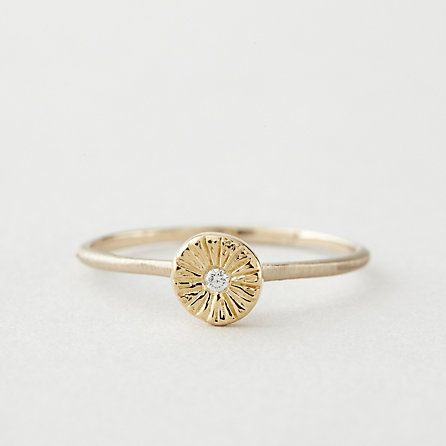 SUNBURST DIAMOND RING