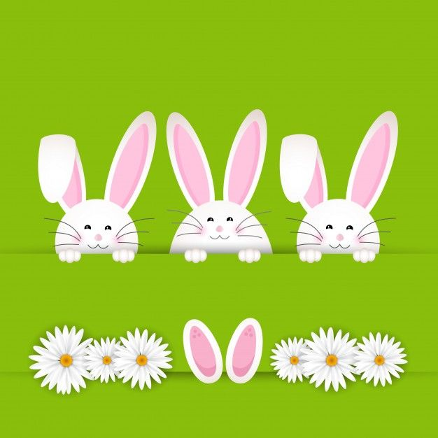Easter bunny Silhouette design, Easter bunny and Silhouettes - copy coloring book pages of rabbits