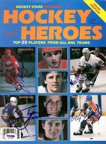 Wayne Gretzky, Mike Bossy, Tom Barrasso