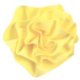 Ruffled Ribbon Rose with Sugar Sheets