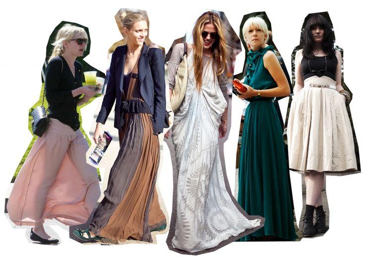 Maxi szoknya- hogyan viseld és hogyan ne viseld ezt a ruhadarabot? #fashionfave #maxiskirt #skirt #outfit