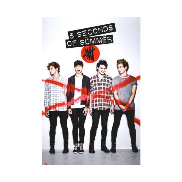 5 Seconds of Summer - Album Cover Poster (33 BRL) ❤ liked on Polyvore featuring home, home decor, wall art, 5sos, music wall art, music home decor, music posters and album cover wall art
