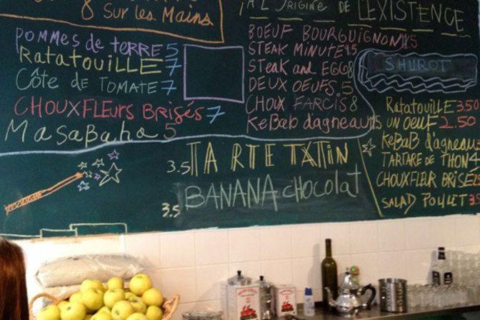 Restaurant Miznon in Paris