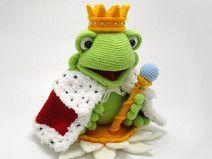 Frosch König Häkelanleitung