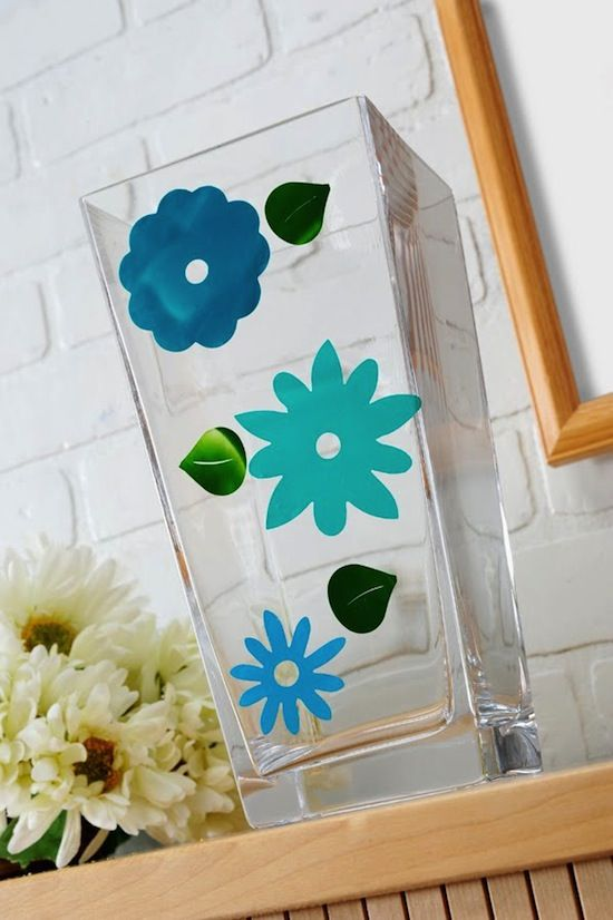 DIY glass clings - so inexpensive to make with Mod Podge and paint. What is your favorite budget kids craft?
