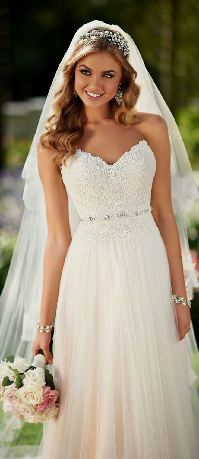 Simple wedding dress. Forget-me-not, get out for the moment ...