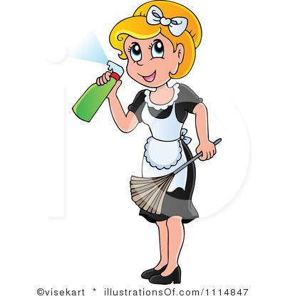 Professional Maid Clip Art