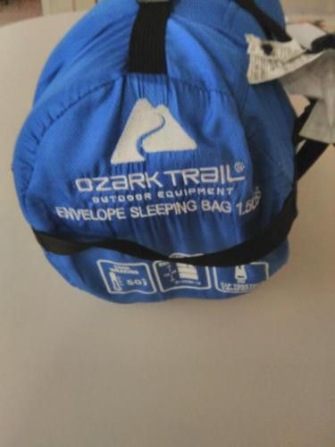 Ozark Trail 1.5lb/50F Warm Weather Rectangular Sleeping Bag (Free Shipping). Ozark Trail 1.5lb/50F Warm Weather Rectangular Sleeping Bag (Free Shipping)                                                                                                 Description Take the 50F Ozark Trail Sleeping Bag with you on your next camping trip. It will be a sure way to spend the night outdoors comfortably and be rested the next day. This sleeping bag is made out of 97 percent polyester and 3 percent…