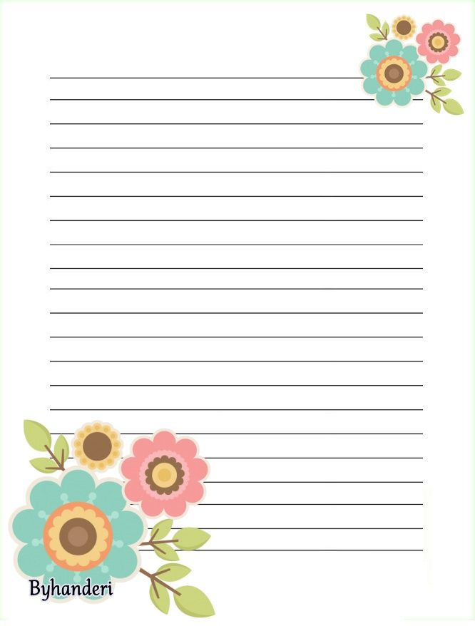 759 best Lined writing papers! images on Pinterest Writing - lined letter paper