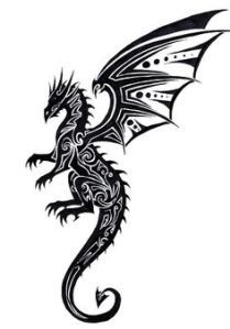 Black Dragon Tattoos Designs Variations - Tattoo Pictures