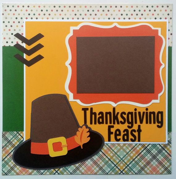 Thanksgiving feast layout