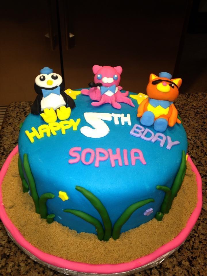 Octonauts Cake Decorations Uk : 1000+ images about 5th Birthday Cakes on Pinterest ...