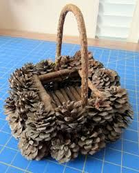 Basket pine cone