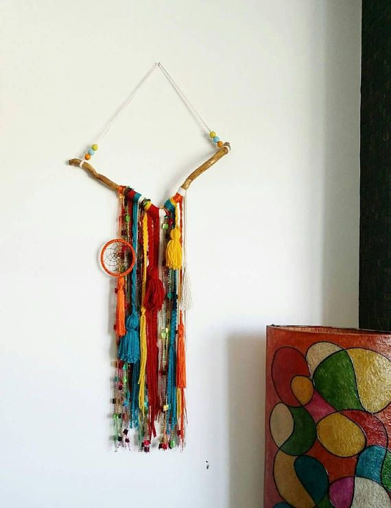 Check out this item in my Etsy shop https://www.etsy.com/uk/listing/554939471/wall-tapestry-colorful-yarn-wall-hanging
