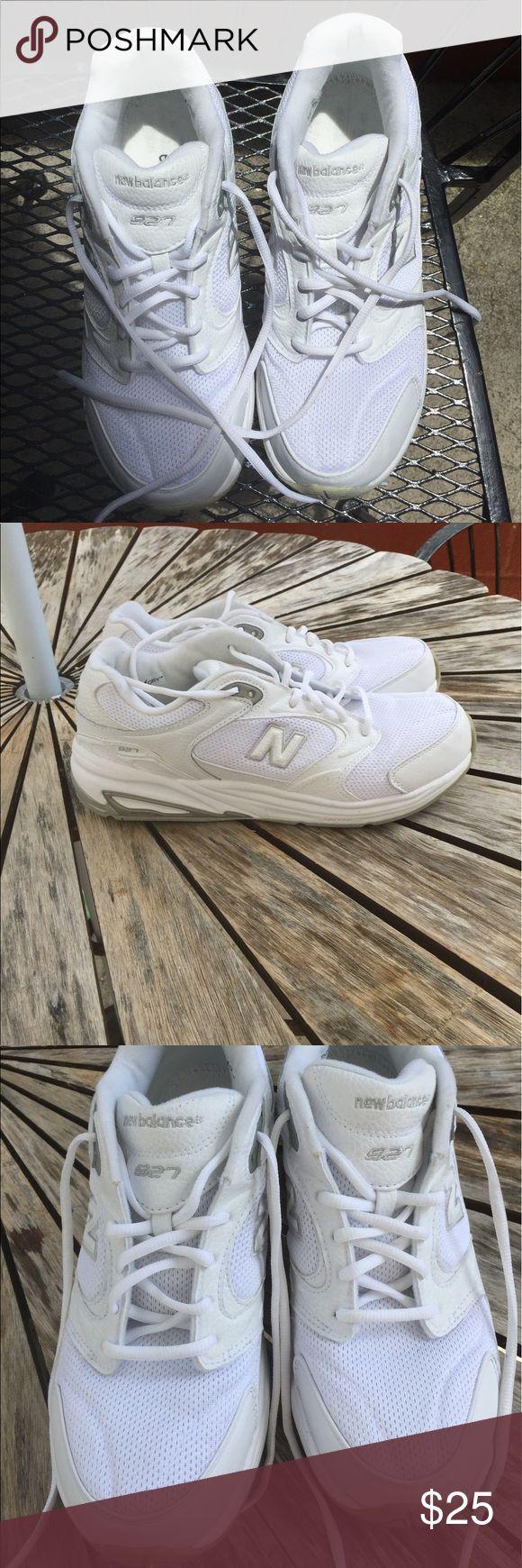 New Balance Women's Walking Shoes 10.5 white A pair of women's New Balance walking shoes. Very sturdy. Like new. New Balance Shoes Athletic Shoes