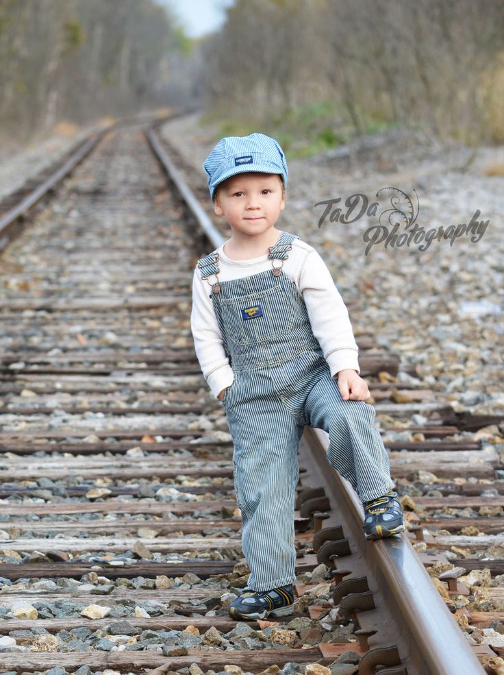 Little Boy 3rd Birthday train photos!  He would love this! But I'd be a lil nervous....maybe on a train instead?