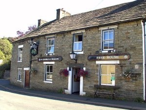 The local, George and the Dragon, Garrigill