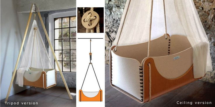 Woodly - Roll hanging cradle