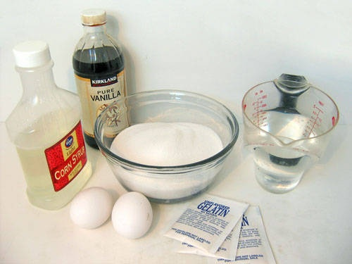 Marshmallows - step by step recipe with pictures :)