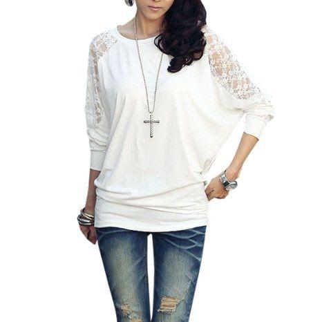 lace back shirt <3