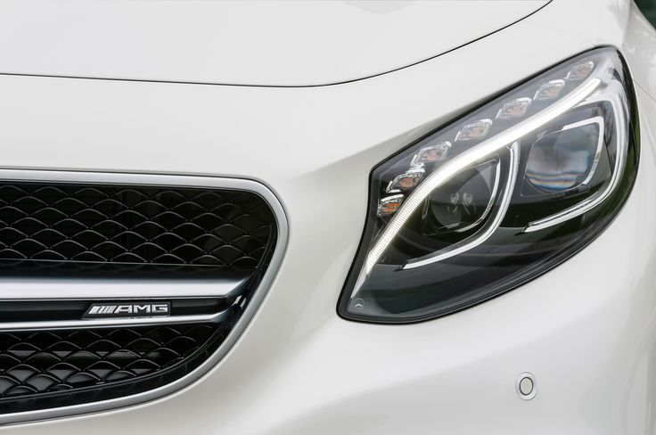 These lights always get me. 2015 Mercedes Benz S63 Amg 4Matic Coupe Headlight And Badge Photo 25