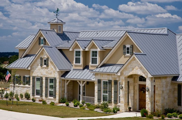 346 best images about hill country style homes on for Custom home exterior design