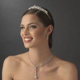 Bridal tiara Saskia - Georgia Dristila Accs